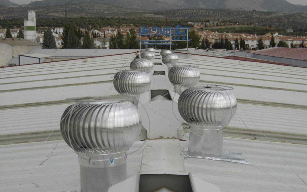 Almacén de materiales de construcción en Granada